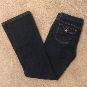 Banana Republic flare jeans 10 Long